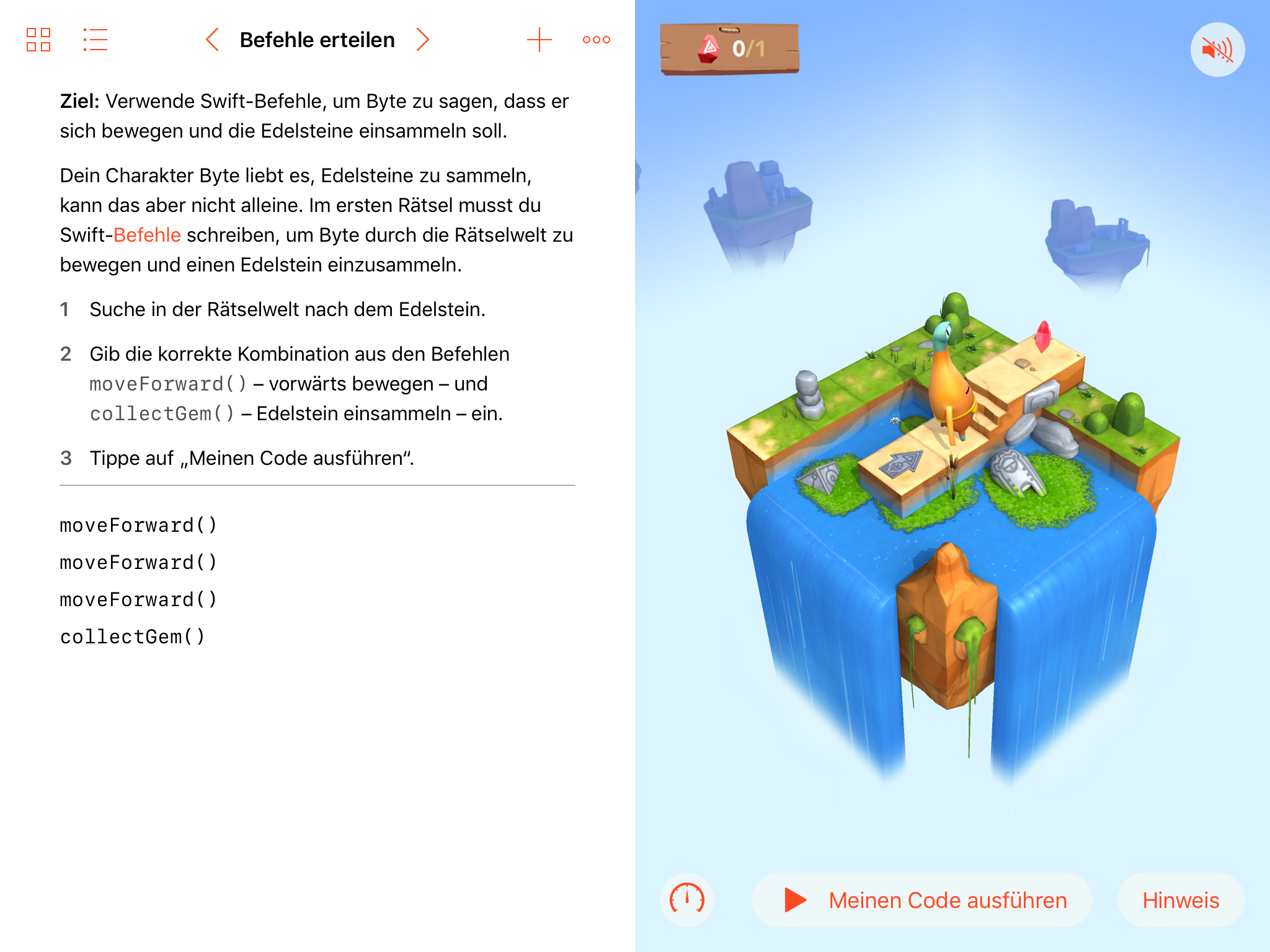 Swift Playgrounds - Programmieren Lernen 1